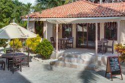 The Coco Café in Belize