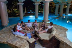 Cococabana Pool Bar - Guests on couch