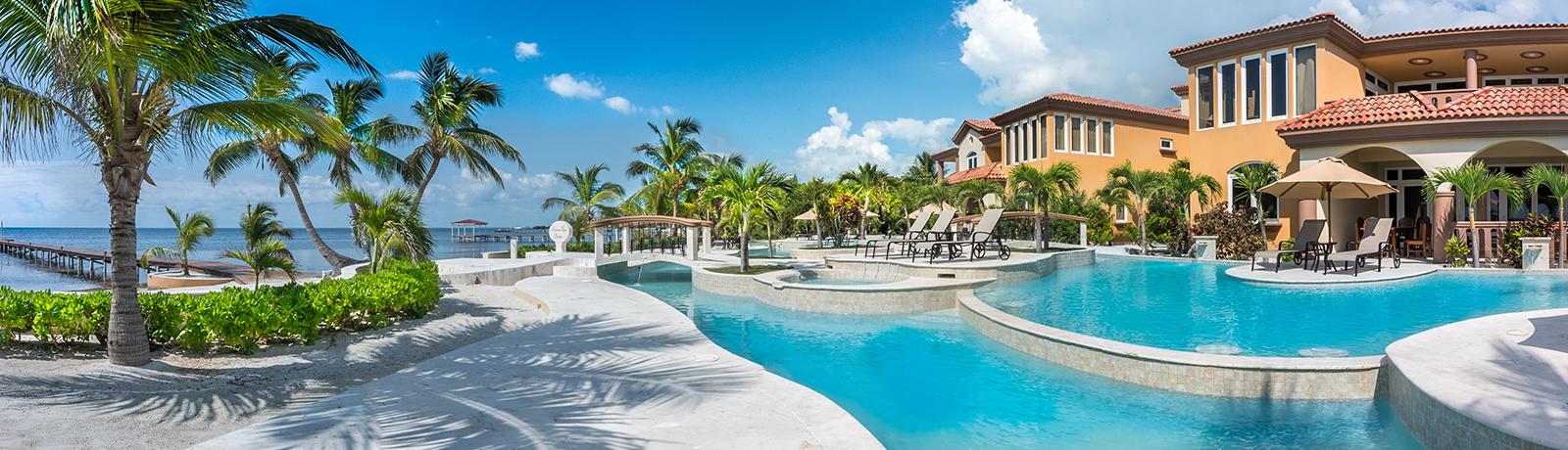 Belizean Cove Estates and Ocean