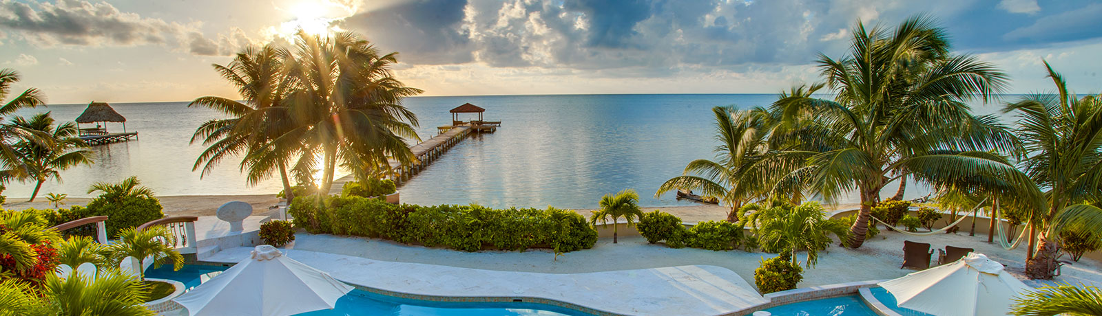 Luxury Beachfront Vacation Rental in Belize