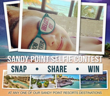 Sandy Point Selfie Contest - SNAP • SHARE • WIN!