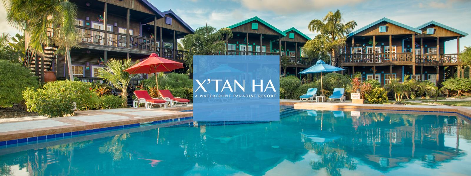 X'tan Ha Resort Pool on Ambergris Caye