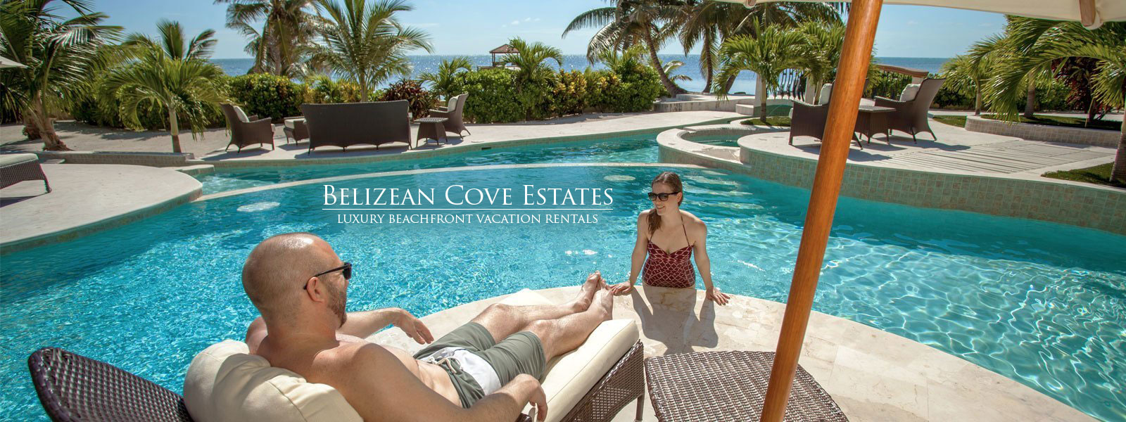 Luxurious Pools at Belizean Cove Estates in Belize