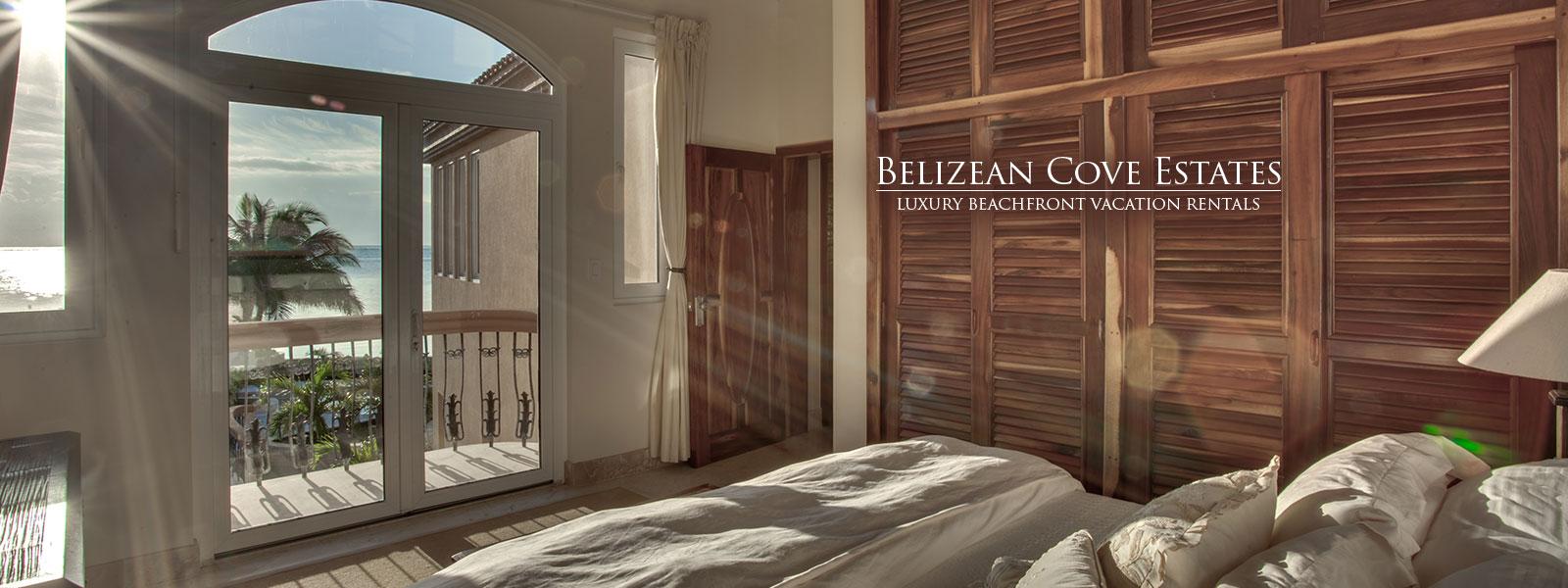 Beautiful beachfront sunrise in Belize at Sandy Point Resorts