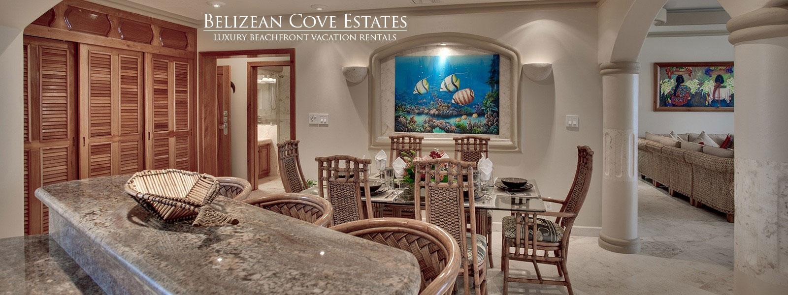 Luxury Vacation Rentals in Belize at Belizean Cove Estates
