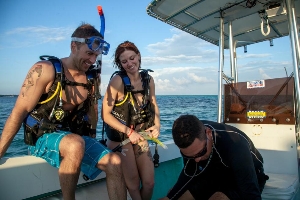 Scuba Diving Couple