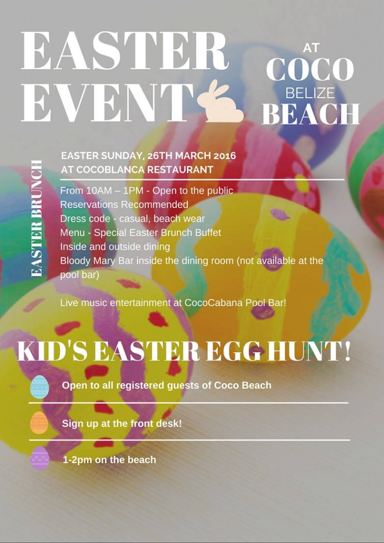 Coco Beach Easter Festivities