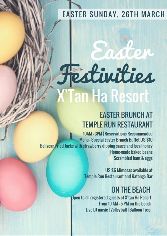 Xtan Ha Easter Sunday