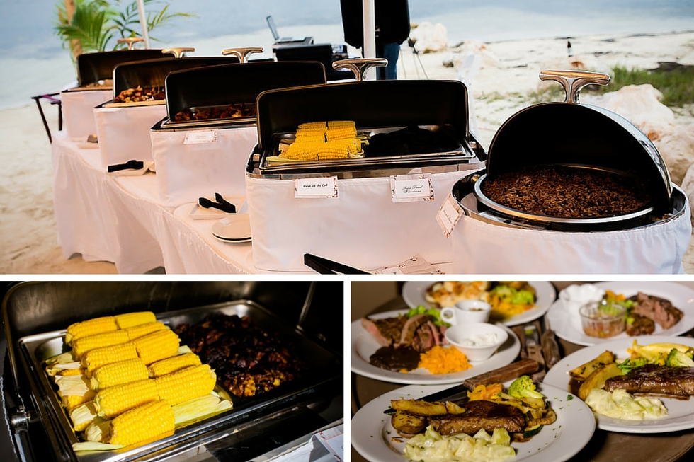 Wedding Buffet Coco Beach Resort