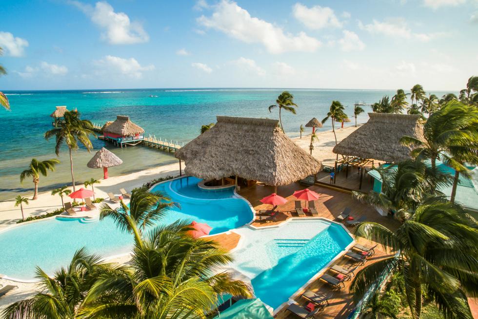 Blu Beach Bar at Costa Blu Resort