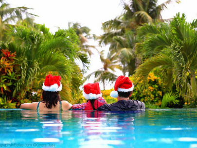 Xmas at Belizean Shores