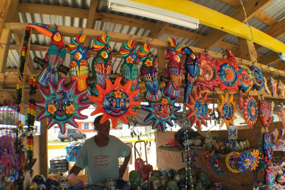 Belizean souvenirs