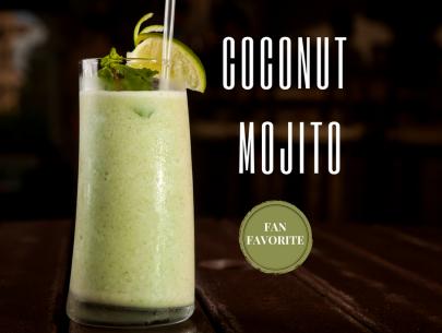 frozen coconut mojito