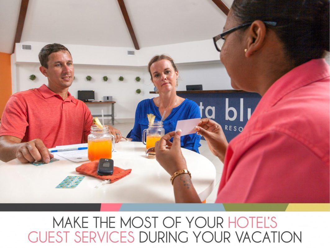Make the most of your hotel's guest services