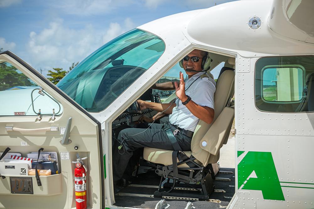 Maya-Island-Air-Plane-and-Pilot