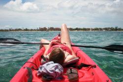 Kayaking the Reef