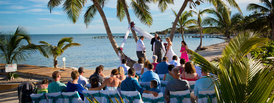 Tropical Breezes Wedding Package