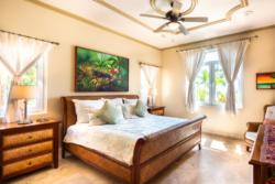 Bedroom interior of Villa Paraiso