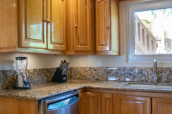 Kitchen cabinets and appliances in Villa Paraiso