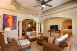 Living Room in Villa Paraiso