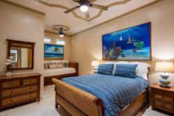 Over view of bedroom in Villa Paraiso