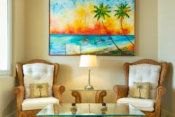 Living area Villa Paraiso 1