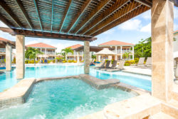 Belizean Shores Pool Overview