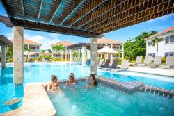 Belizean Shores Pool Overview