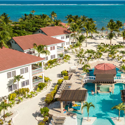Belizean-Shores-Resort-Aerial