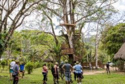 Belizean-Shores-Resort-Ziplining