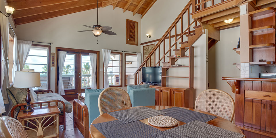 Belizean-Shores-Sea-View-Upper-Level-suite-Interior-overview