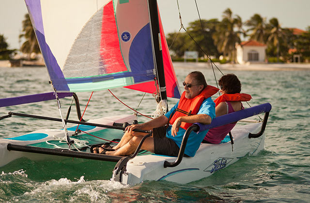 Sailsports in Belize