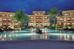 Coco Beach Resort at Night