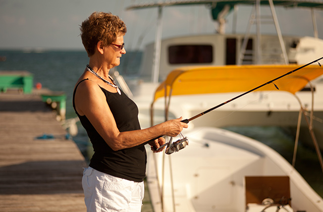 Fishing at Costa Blu
