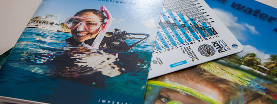 Reading Materials for Diving