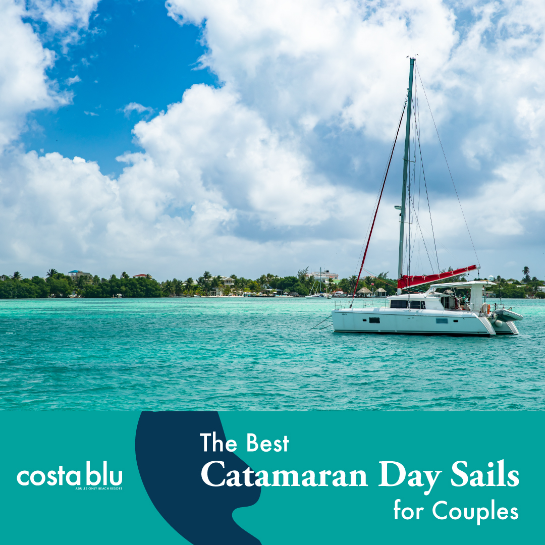 Catamaran for couples in Belize