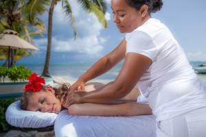 Belize Beach Resort Massage Spa Services Belizean Shores Resort