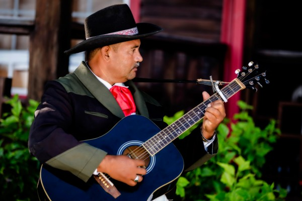 Belize Wedding Spanish Guitar Serenade - photo by Jose Luis Zapata