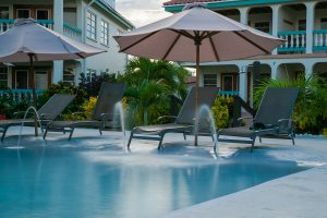 Belizean-Shores-Resort-fountain