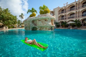 Coco Beach Resort Luxury Belize Resort Beautiful Saltwater Pool