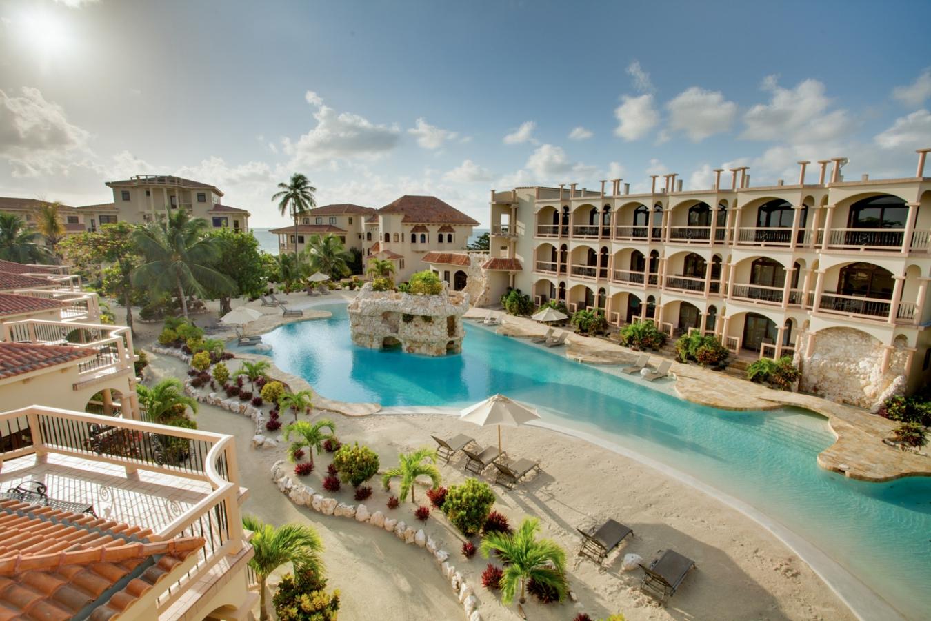Coco Beach Resort Luxury Belize Large Salwater Pool
