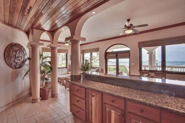 Coco Beach Resort Luxury Belize Resort Luxury Seaview Kitchen View