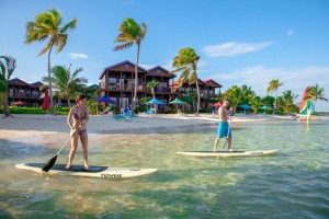 X'tan Ha Belize Beachfront Resort SUP Paddle Boarding
