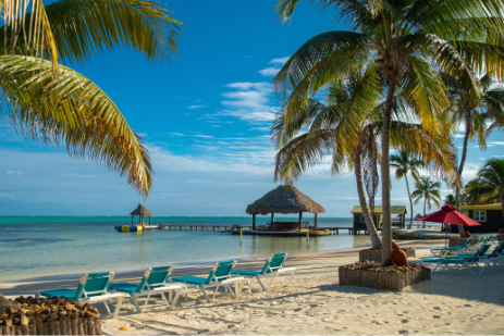 X'tan Ha - best beach in north Ambergris Caye