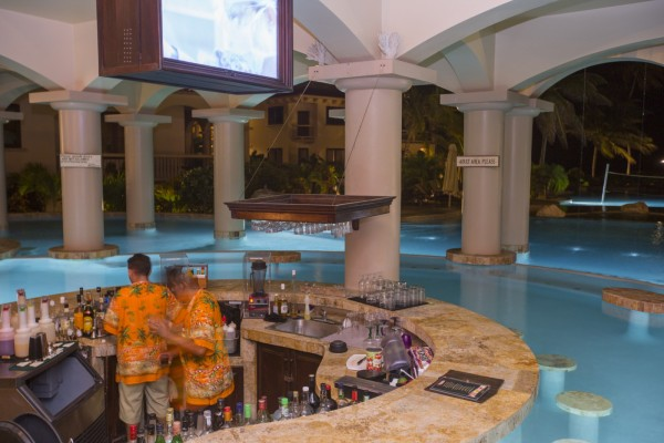 Cococabana Pool Bar Coco Beach Belize Resort