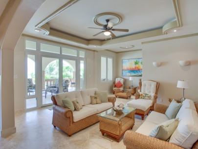 Villa Paraiso Belize Luxury Vacation Rental Living Room