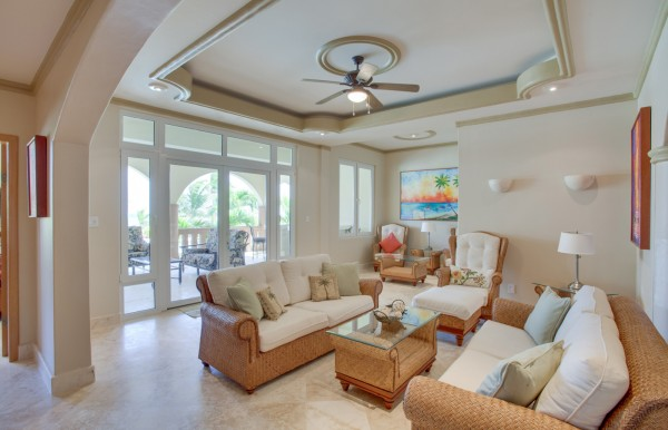 Villa Paraiso Belize Luxury Vacation Rental Living Room