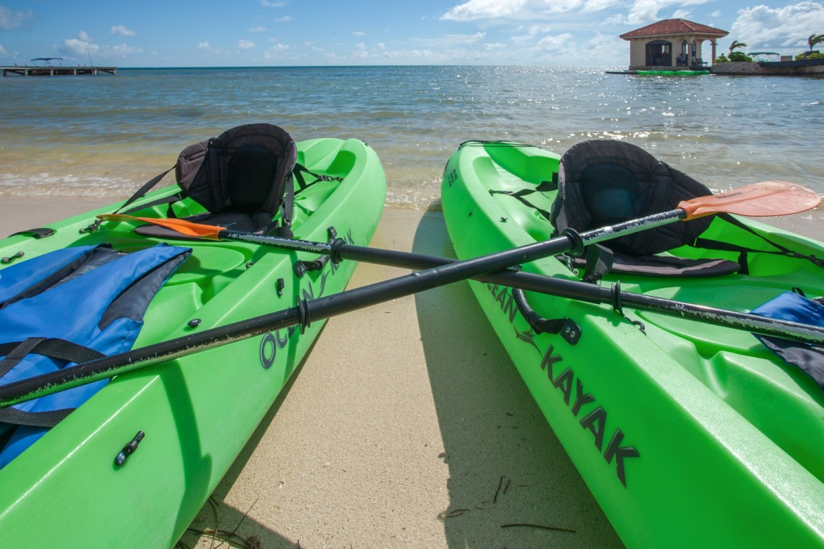 Kayak at Coco Beach Resort