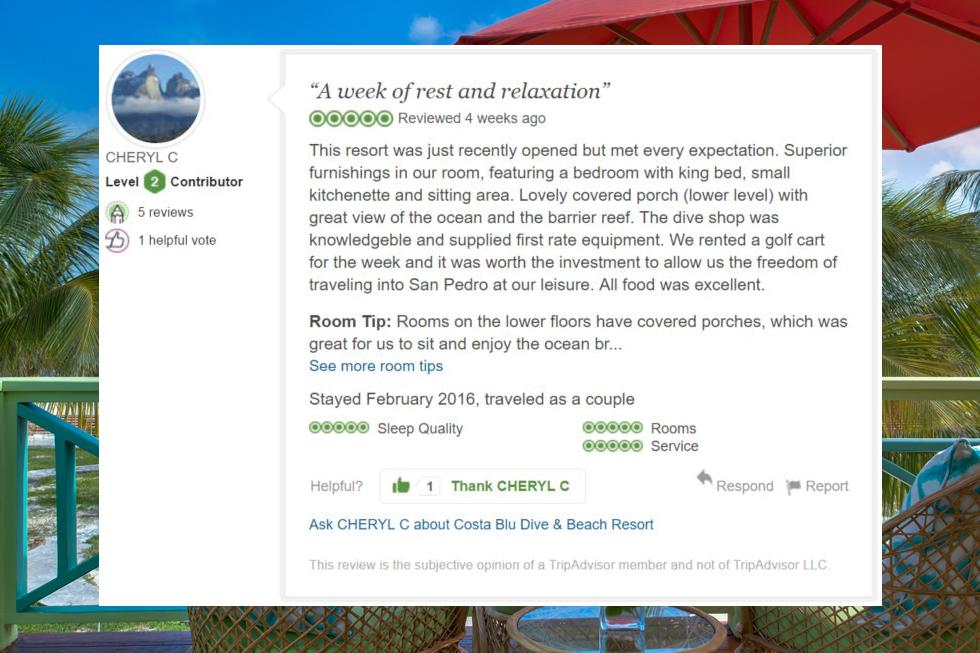 Costa Blu Review