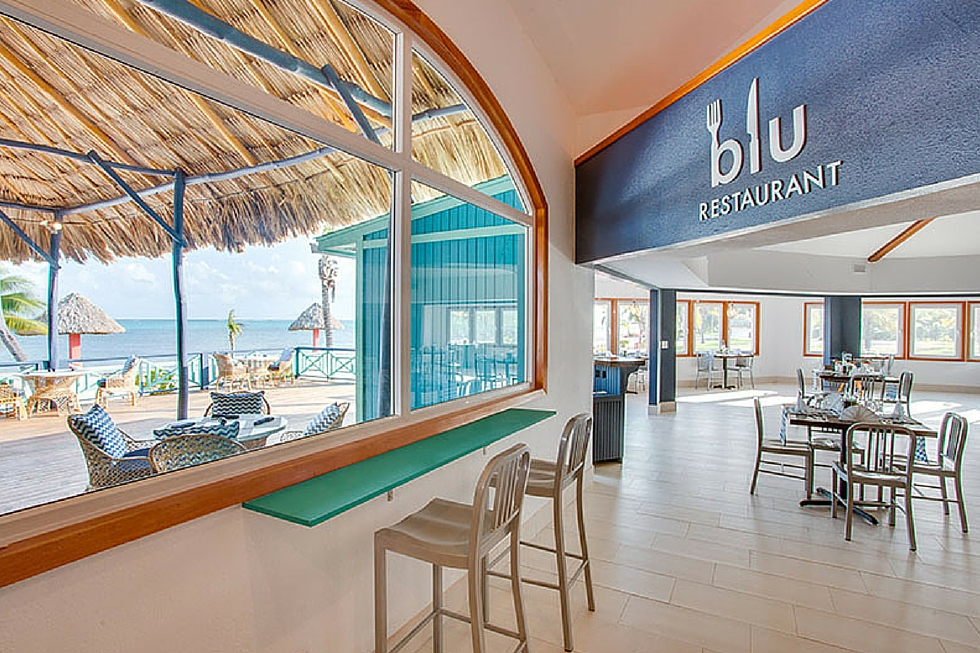 Global fusion cuisine in Belize! Blu Restaurant